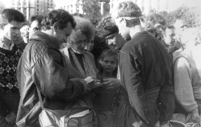 Прес-конференція: 30 років Революції на граніті в документах КҐБ та артефактах